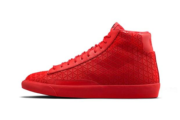 """Кеды Nike Blazer Mid Metric """"University Red"""""""