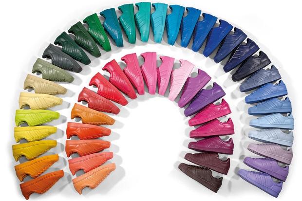 """Коллекция кроссовок adidas Originals Superstar """"Supercolor"""""""