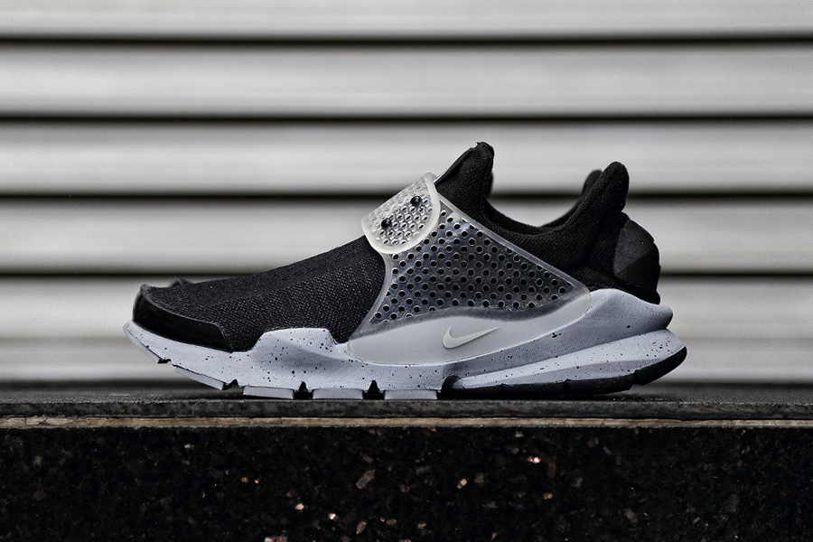 "Кроссовки fragment design x Nike Sock Dart ""Black Oreo"""