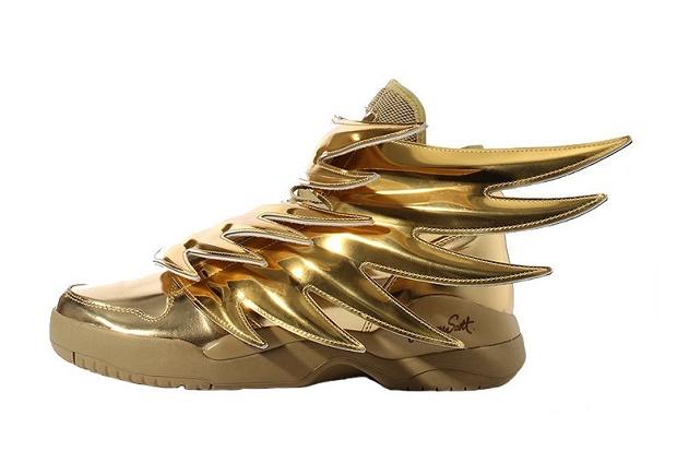 "Кроссовки Jeremy Scott x adidas Originals JS Wings 3.0 ""Gold"""