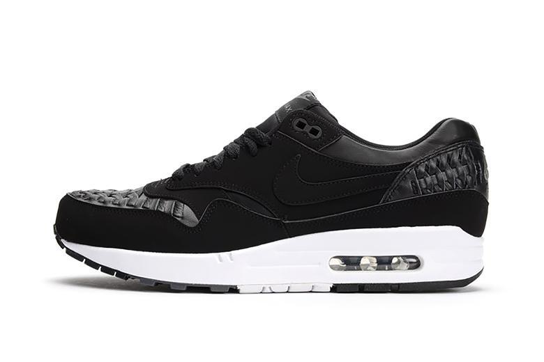 Кроссовки Nike Air Max 1 Woven Black/Dark Grey