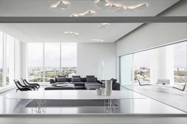 Пентхаус Layers of White в Тель-Авиве от Pitsou Kedem Architects