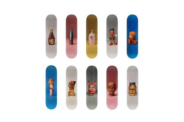 Пол Маккарти представил дизайнерскую коллекцию скейтбордов для Charity