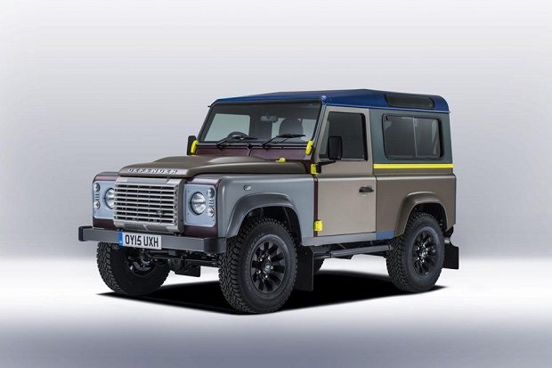 Пол Смит представил разноцветный Land Rover