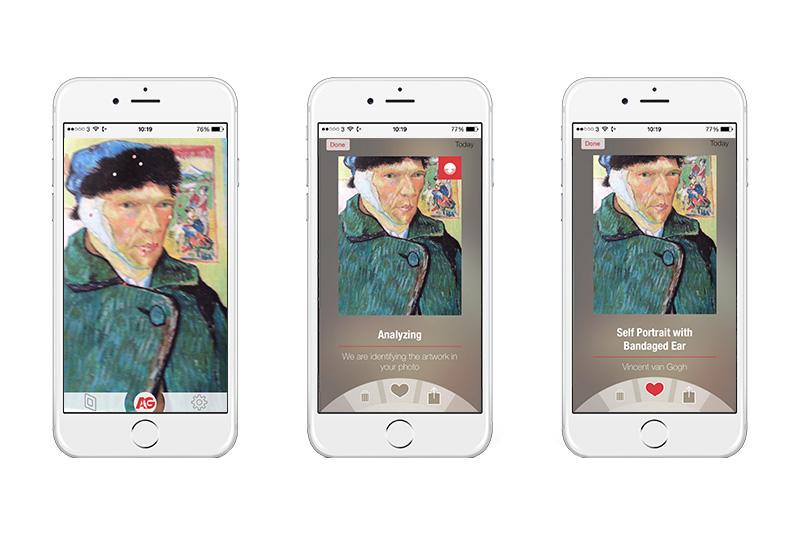 Сотни тысяч картин за долю секунды: мобильное приложение ArtGuru