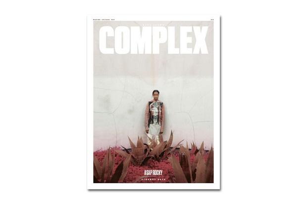 Американский рэпер A$AP Rocky для свежего номера журнала Complex