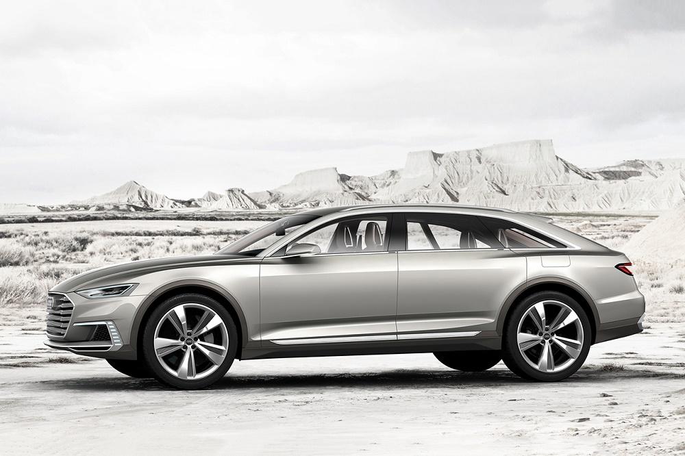 Audi провела премьеру концепт-кроссовера Prologue Allroad