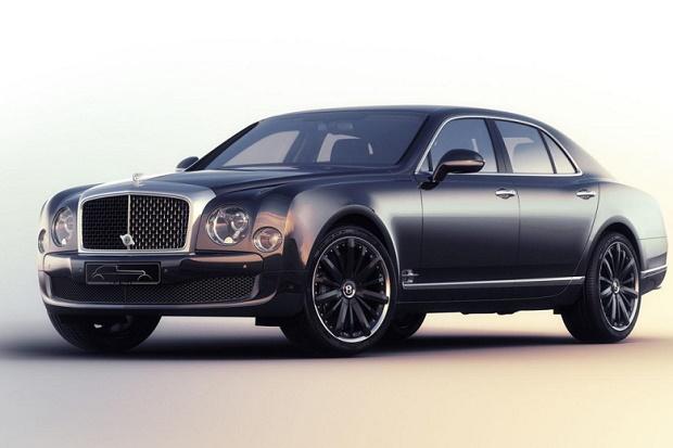 Bentley Mulsanne получил специальную версию Speed Blue Train