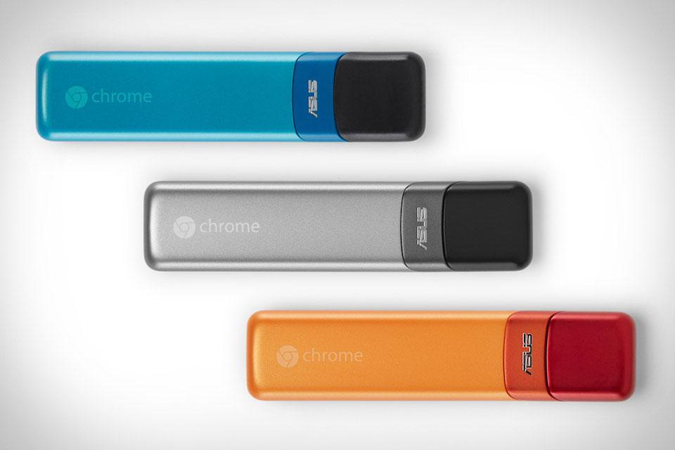 Chromebit: компьютер размером с флешку от Asus и Google