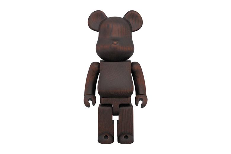 Фигурка karimoku x Medicom Toy Bearbrick Rosewood Paint 400%