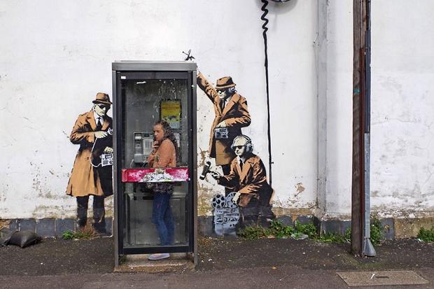 Фреску Бэнкси в Челтнеме внесли в список охраняемых объектов