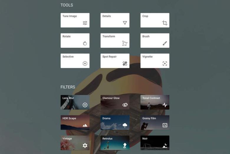 Google выпустил обновление для Snapseed