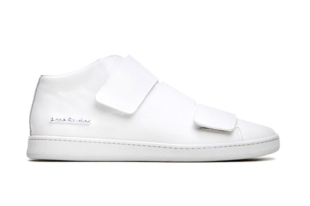 "Кеды Acne Studios Mid-Top ""Triple White"""