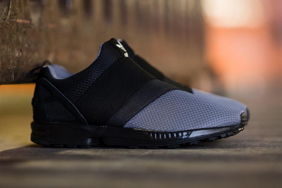 Кроссовки adidas Originals ZX Flux Slip On Granite/Carbon/Core Black