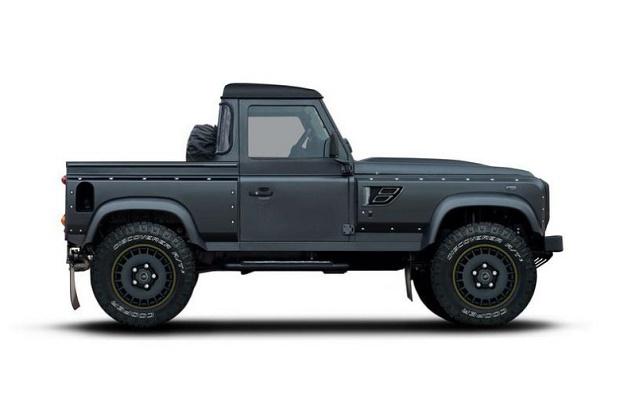 Кузовное ателье Kahn Design превратило Land Rover Defender в пикап