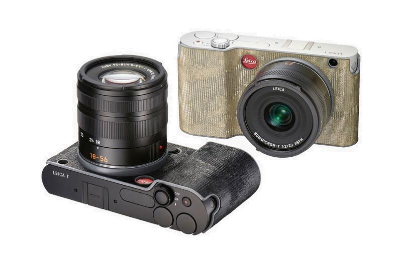 Leica выпустят камеры в ткани
