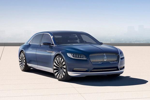 Lincoln покажет в Нью-Йорке концепт обновленного Continental