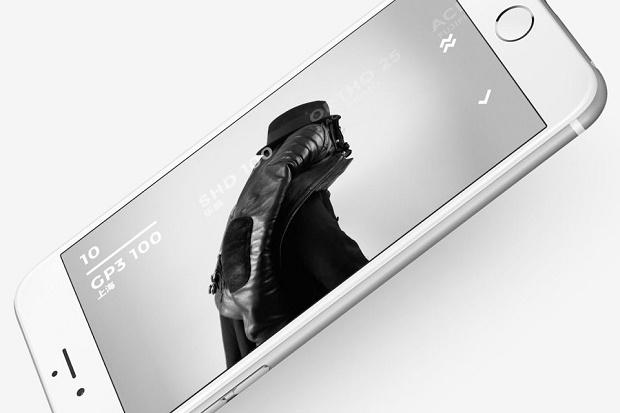 Новое приложение BLACK, имитирующими виды черно-белой пленки