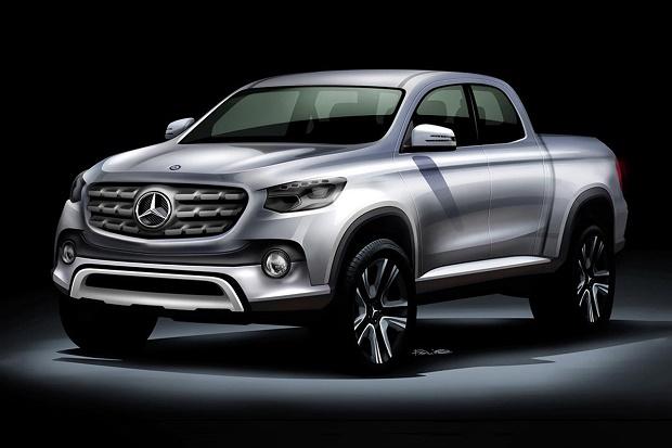 Новый пикап Mercedes-Benz выпустят на базе Nissan NP300