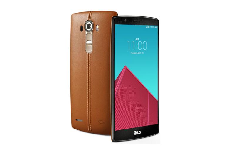 Официальные изображения смартфона LG G4