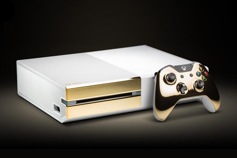 "Позолоченный Xbox One ""Pearl"" за $1000"