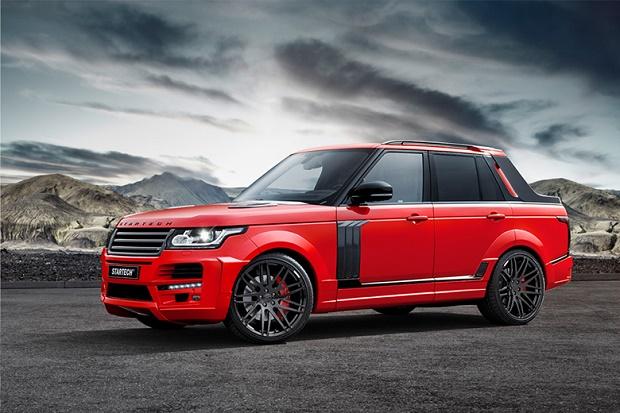 Startech сделали самый роскошный пикап из Range Rover