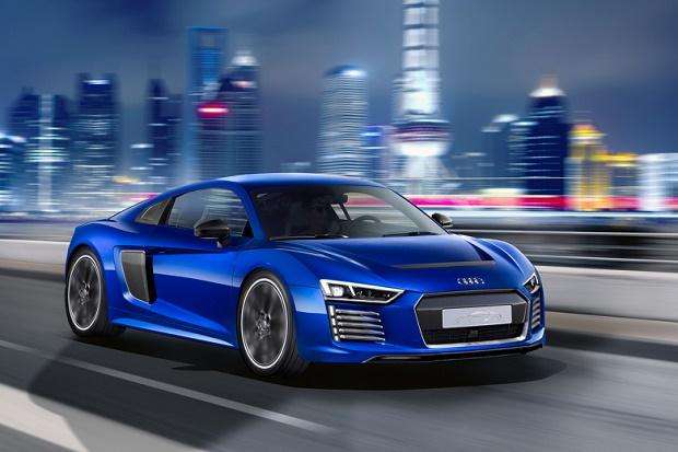 Audi показала в Шанхае беспилотную версию R8 E-Tron