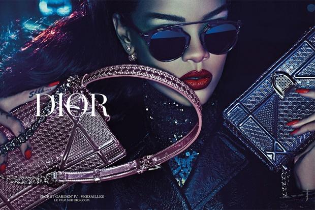 Dior показали рекламную кампанию с участием Рианны