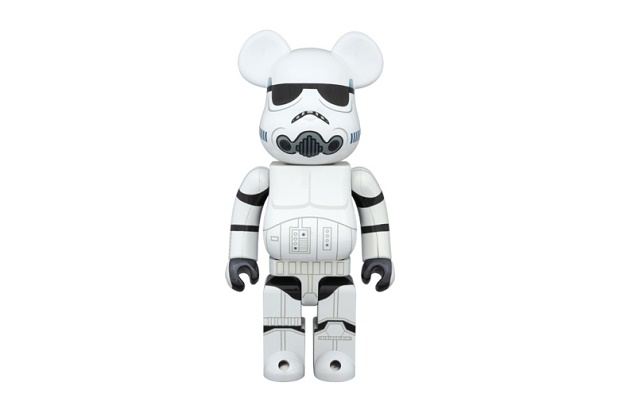 "Фигурка Star Wars x Medicom Toy 400% & 100% Stormtrooper ""Chrome"" Bearbricks"