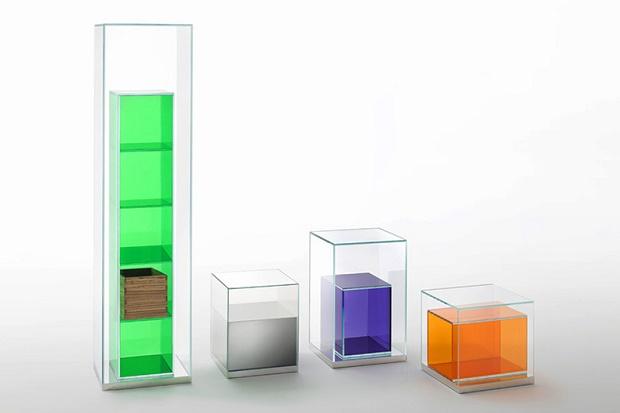 """Филипп Старк разработал коллекцию мебели из стекла """"Boxinbox"""" для Glas Italia"""