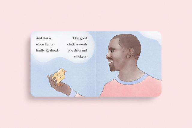 История Канье и Ким легла в основу детской книги