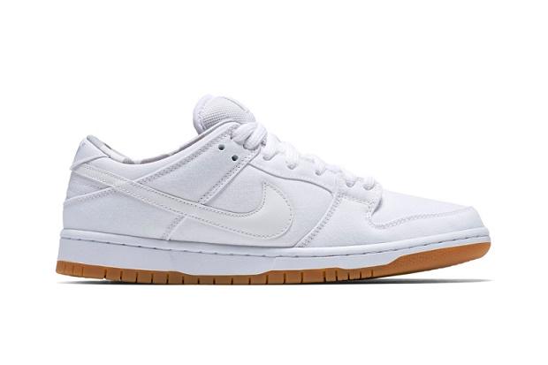 Кеды Nike SB Dunk Low White/Gum