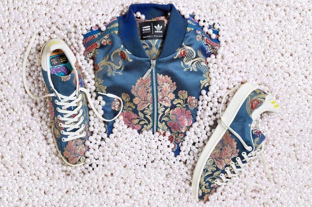 Коллаборация Pharrell Williams x adidas Originals Весна/Лето 2015 Jacquard