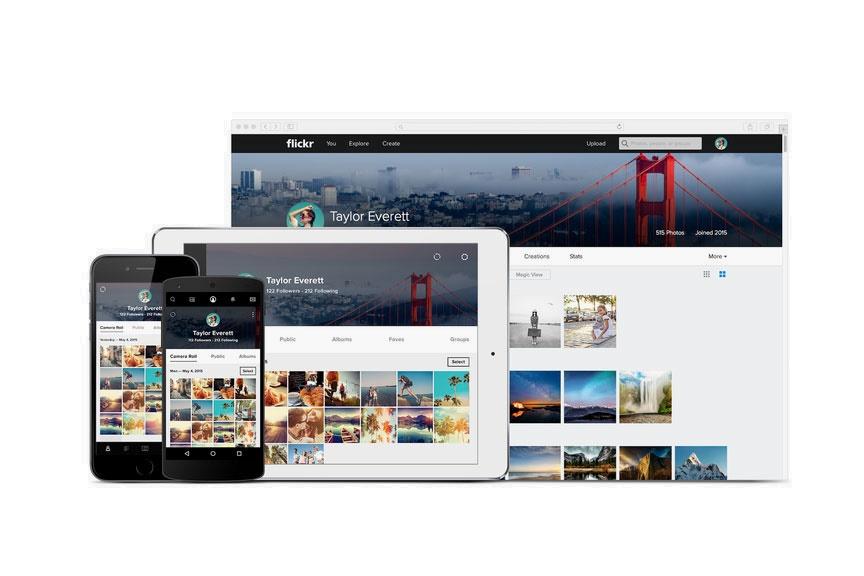 Команда фото-хостинга Flickr значительно обновила сайт