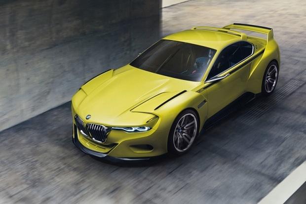 Концептуальный спорткар BMW 3.0 CSL Hommage