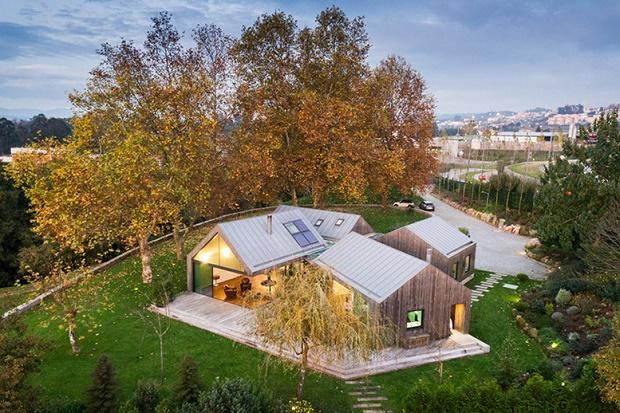 Коттедж для отдыха в Португалии от Prod Architecture & Design