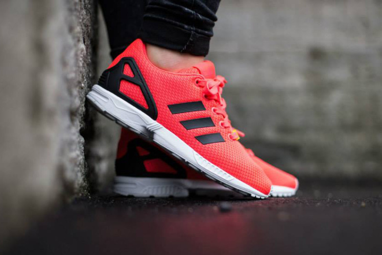Кроссовки adidas ZX Flux Red/Core Black