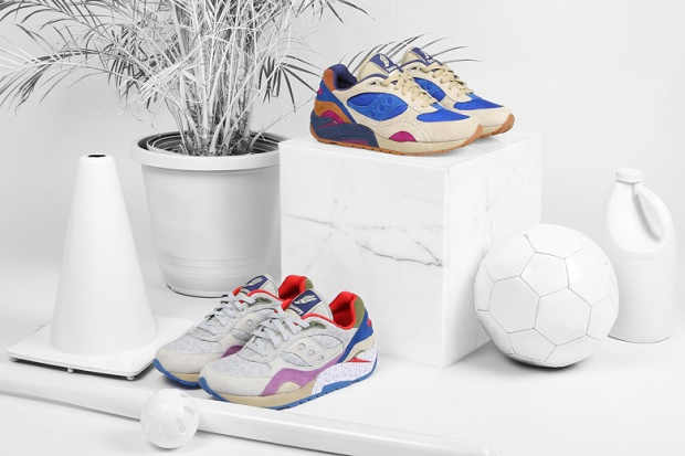 "Кроссовки Bodega x Saucony Elite G9 Shadow 6 ""Pattern Recognition"""