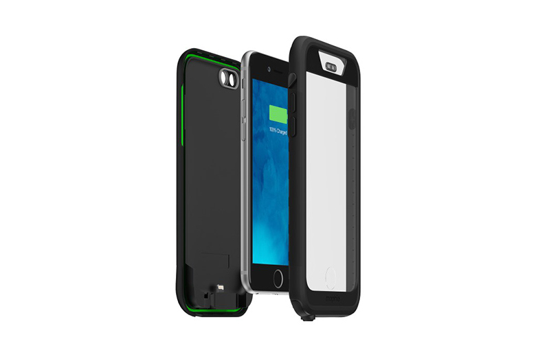"mophie juice pack H2PRO: первая ""непромокаемая"" батарея для iPhone"