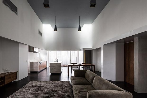 Современный проект COMPLEX от Kouichi Kimura Architects
