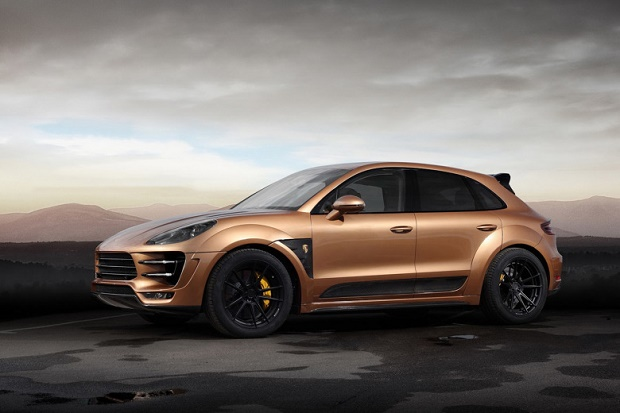 TopCar представил тюнинг-пакет для Porsche Cayenne