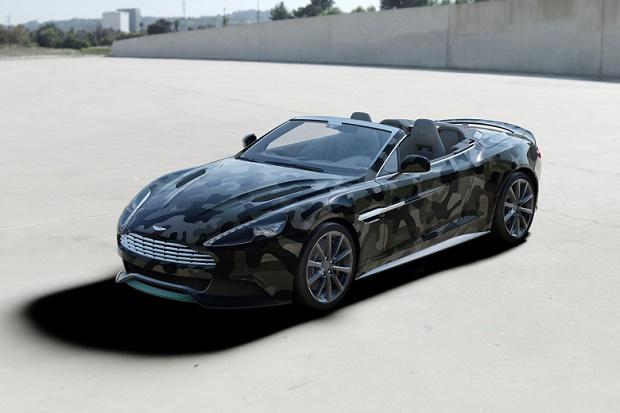 Valentino одели Aston Martin в камуфляж