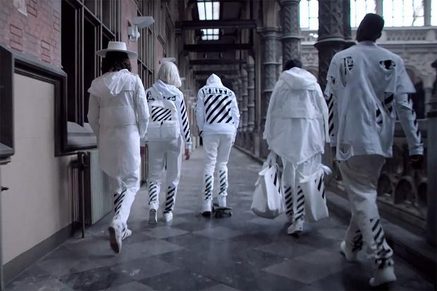 """Видео SSENSE x OFF-WHITE c/o VIRGIL ABLOH Весна/Лето 2015 """"BEFORE and AFTER"""""""