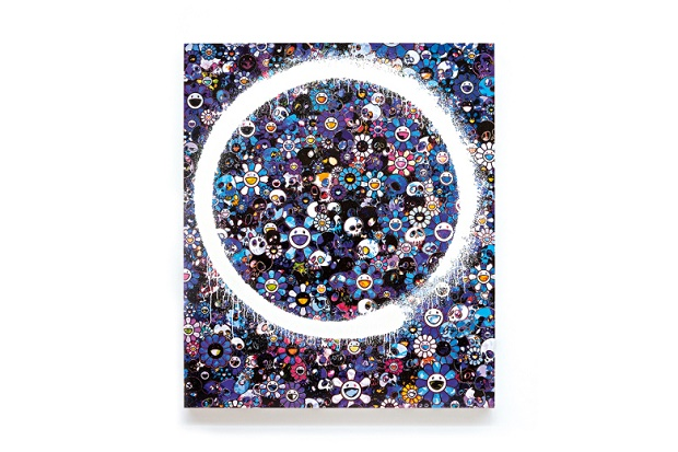 Art Basel 2015: картины Ensō от Такаши Мураками для Galerie Perrotin
