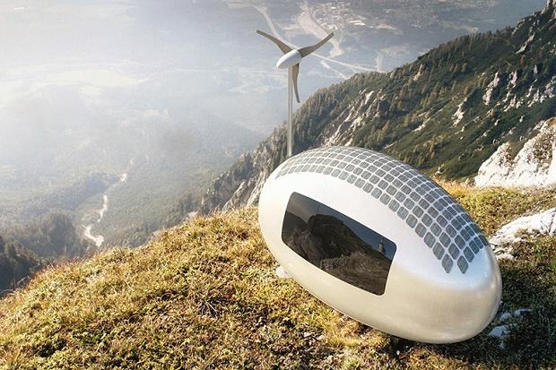 Ecocapsule - автономный передвижной дом