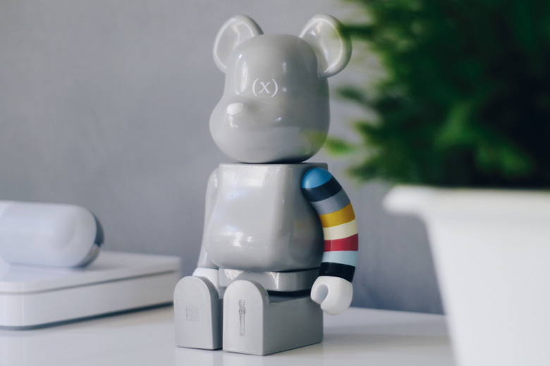 Кастомная фигурка (multee)project x Medicom Toy 400% Bearbrick от Tony Chen