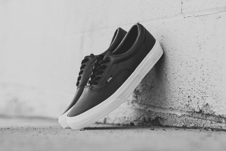 "Кеды Vans Perf Leather Era ""Black"""