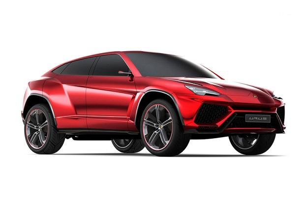 Lamborghini начнет производство кроссовера Urus в 2018 году
