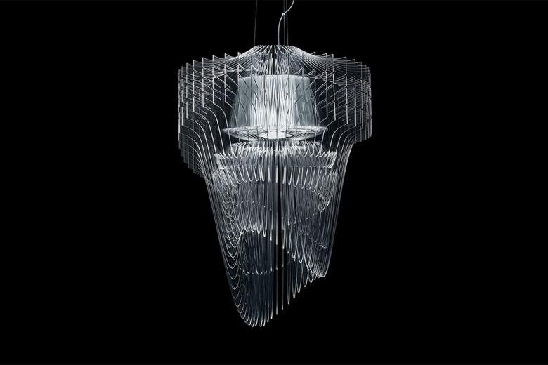 Лампа Aria Transparent от Захи Хадид