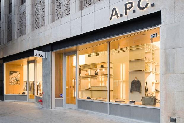 Новый магазин A.P.C. в Лос-Анджелесе